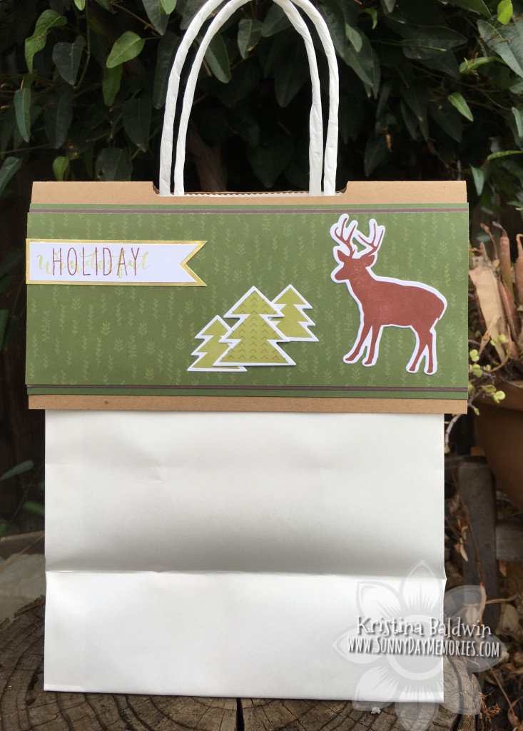 Holiday Bag Topper