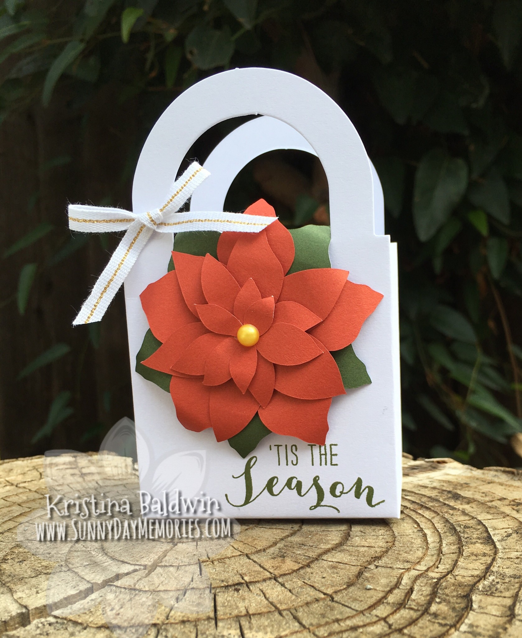 Poinsettia Tote