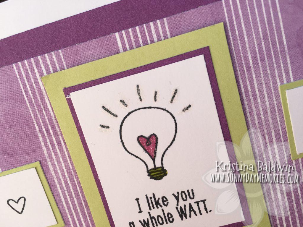 Closeup Like You a Watt Card