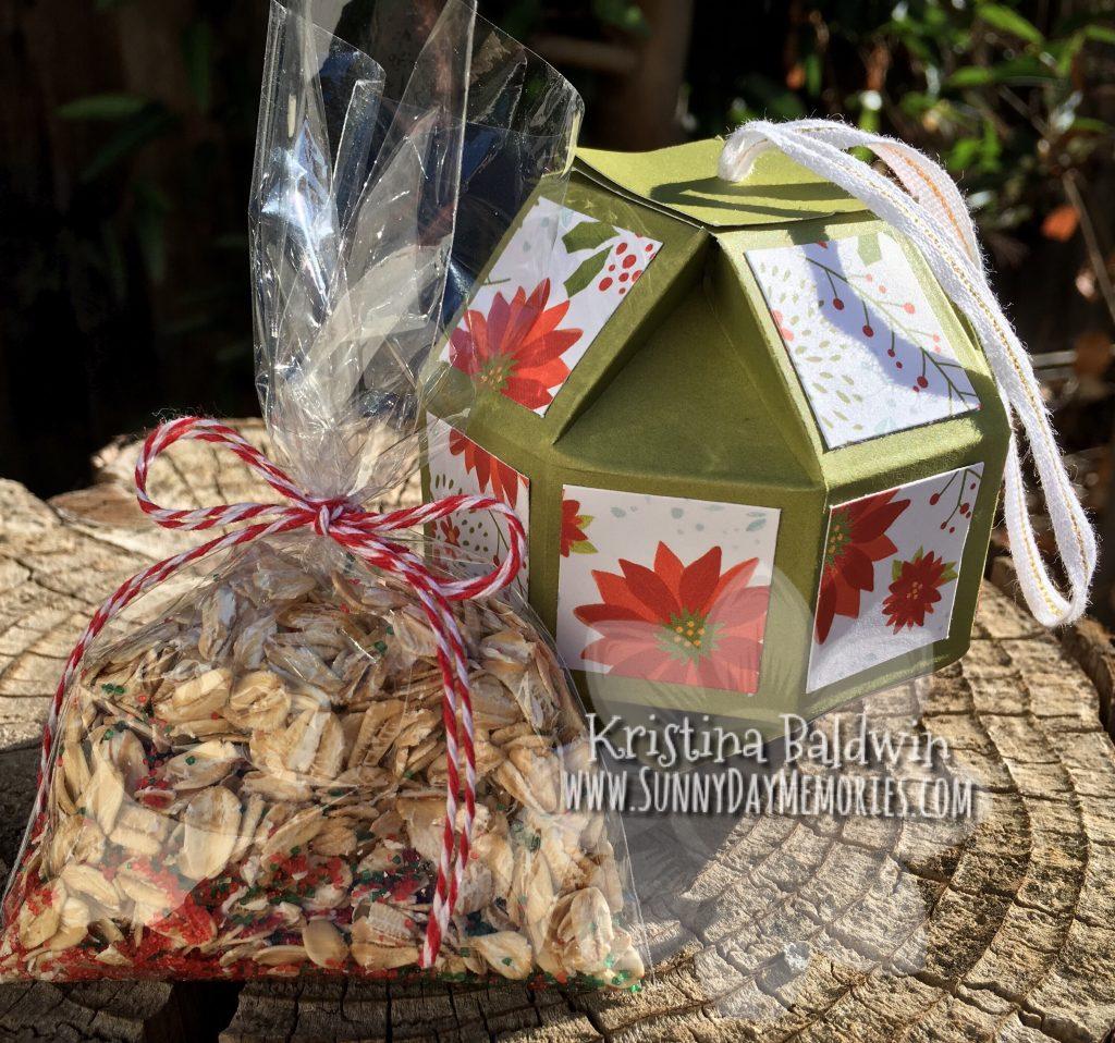 Reindeer Food Paper Ornament