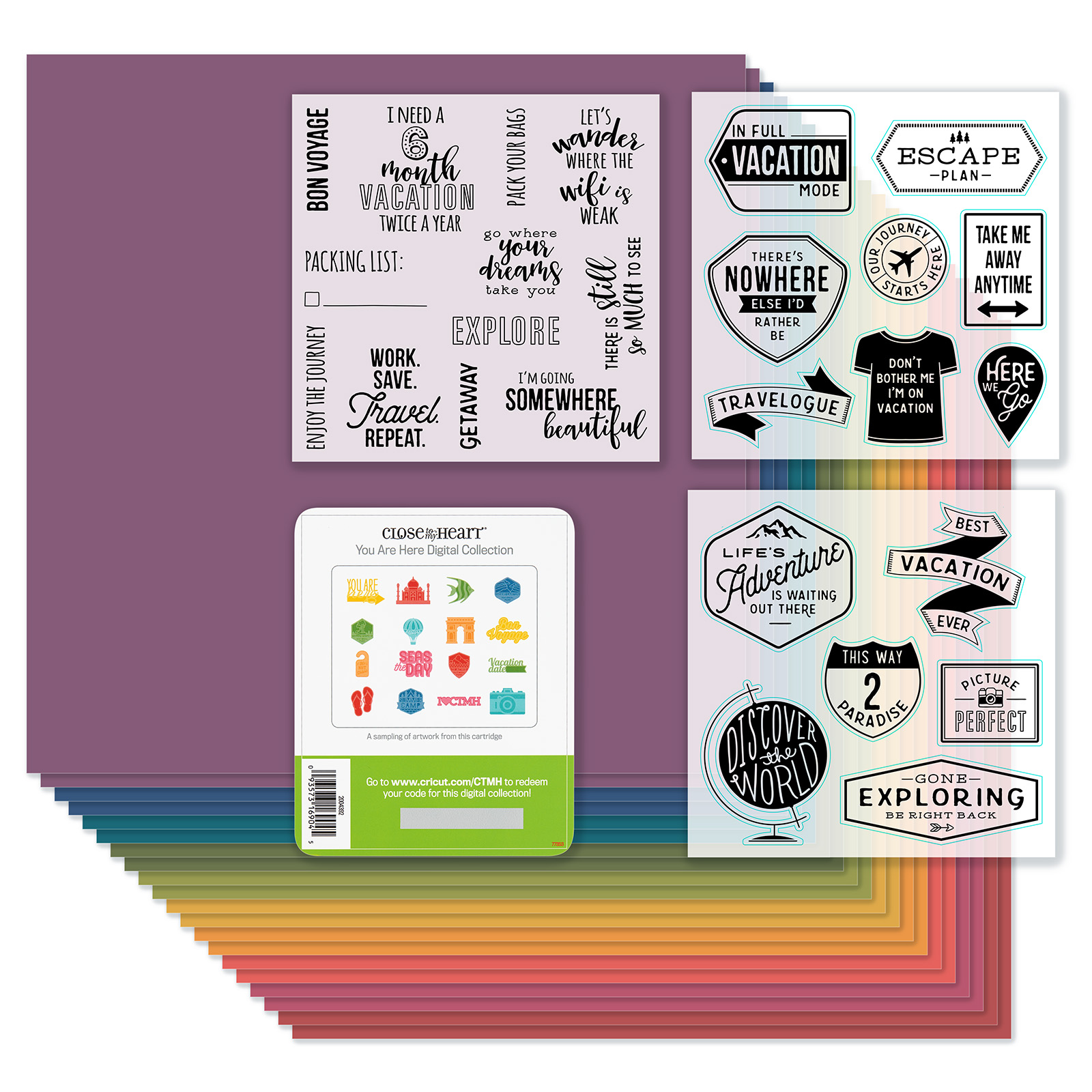 CTMH Cricut You Are Here Collection