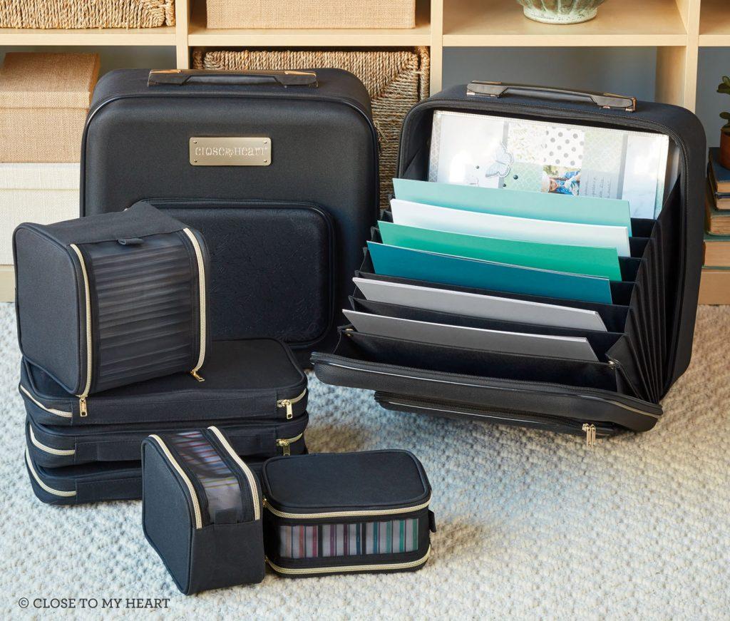 CTMH Designer Travel Portable Organization