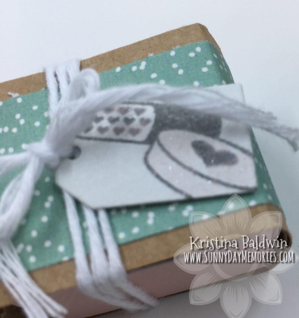Close-up Mini Valentine's Box
