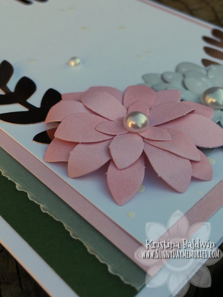 CTMH Love Letters Card Closeup