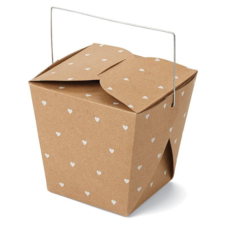 Heart Take Out Box