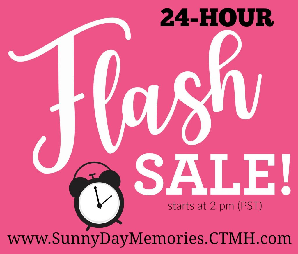 CTMH 24 Hour Flash Sale