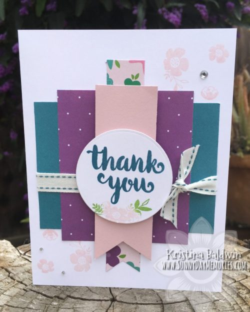 Sunny Thoughts Thank You Card