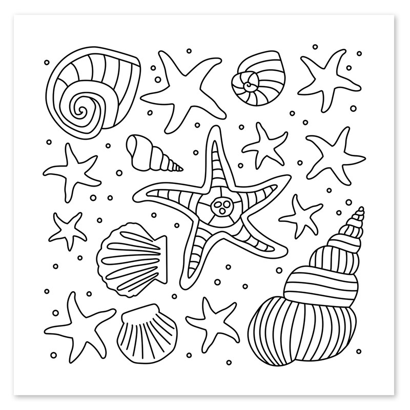 Shells & Stars Stamp Set