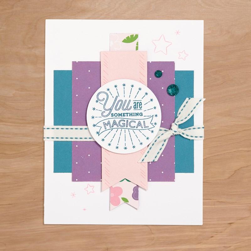 Something Magical Card Kit Card Design 1