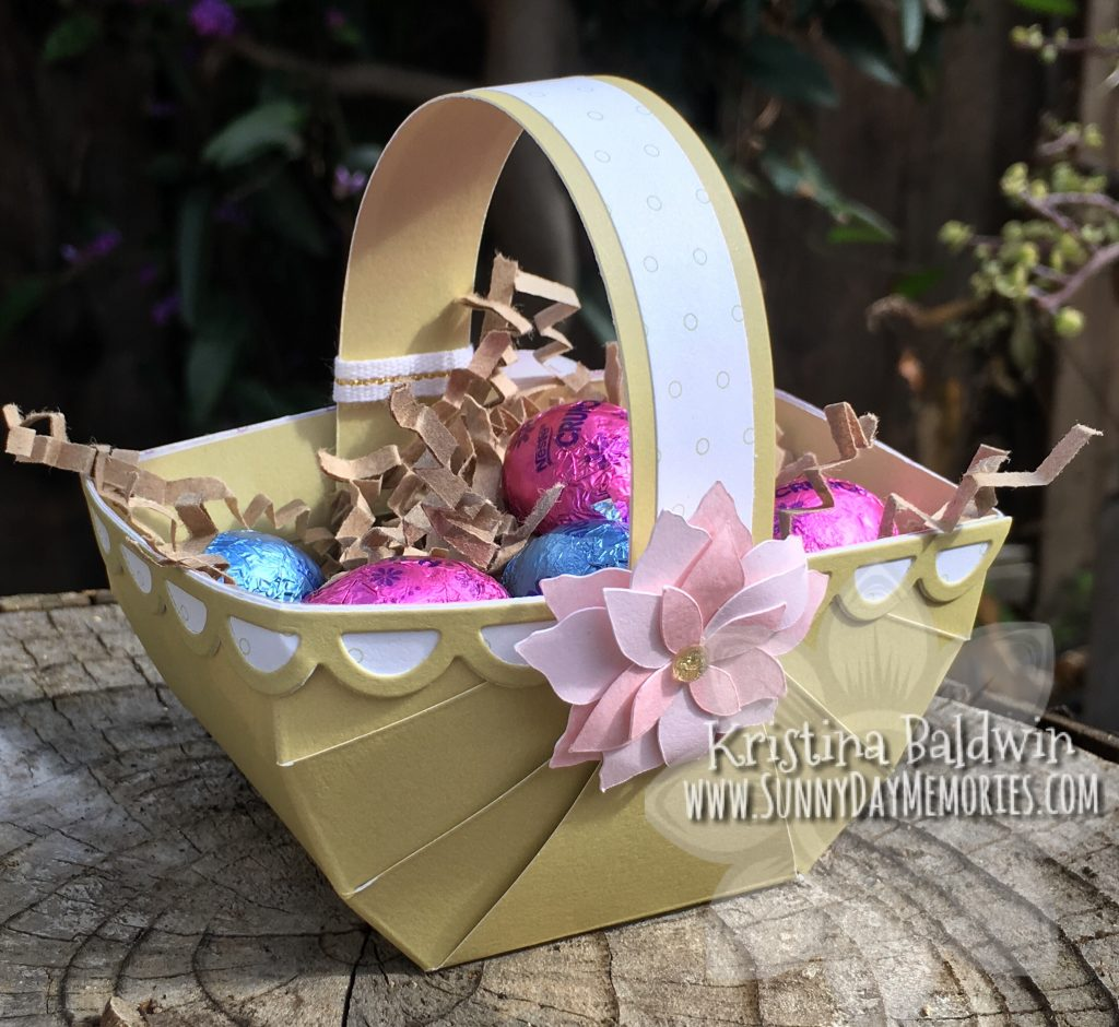 Mini Easter Basket with Flower