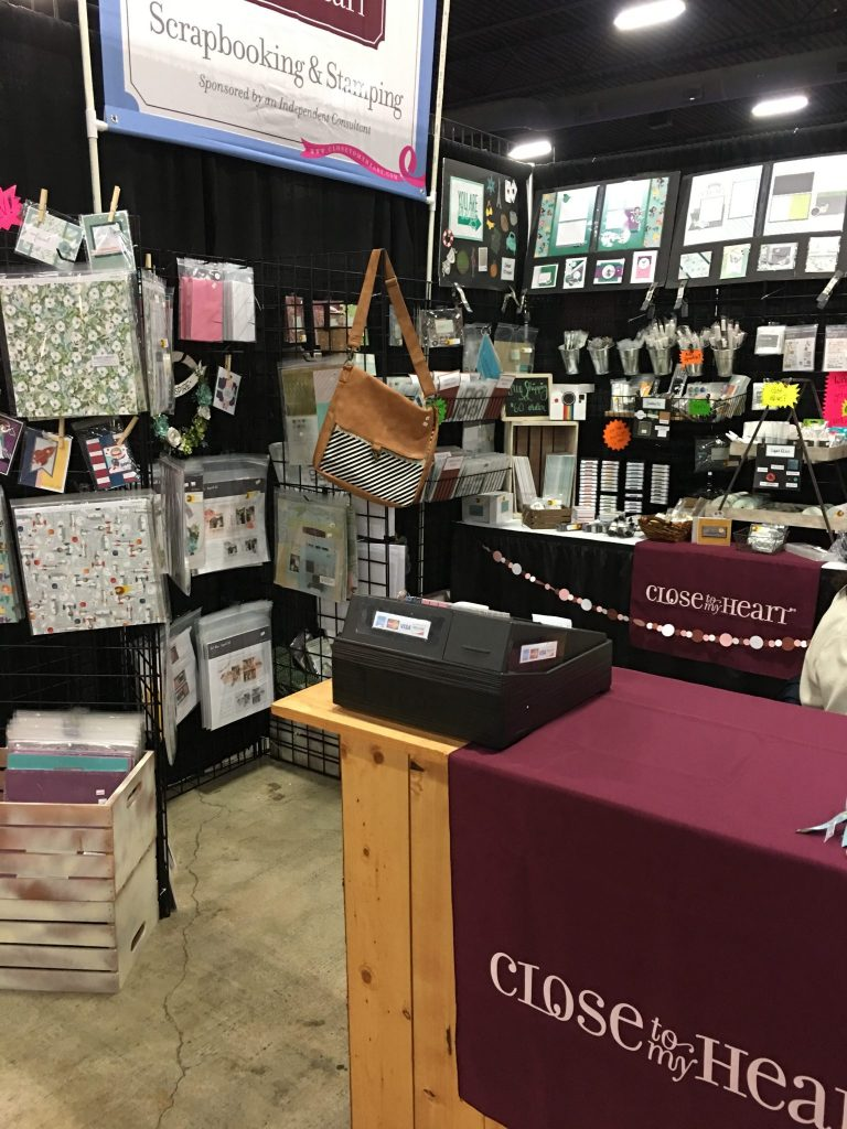 CTMH Expo Booth