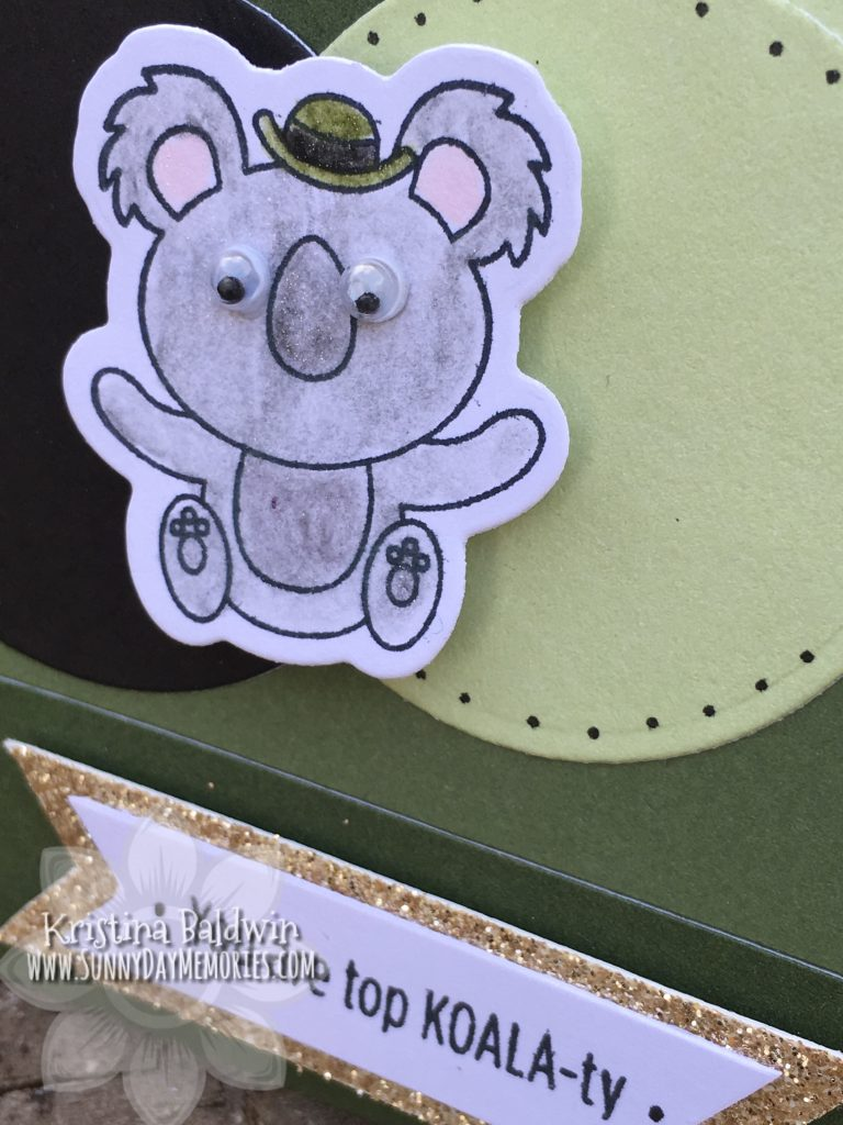Close-up Top Koala-ty Card