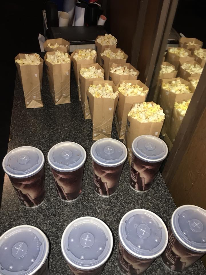 Theater Popcorn & Drinks