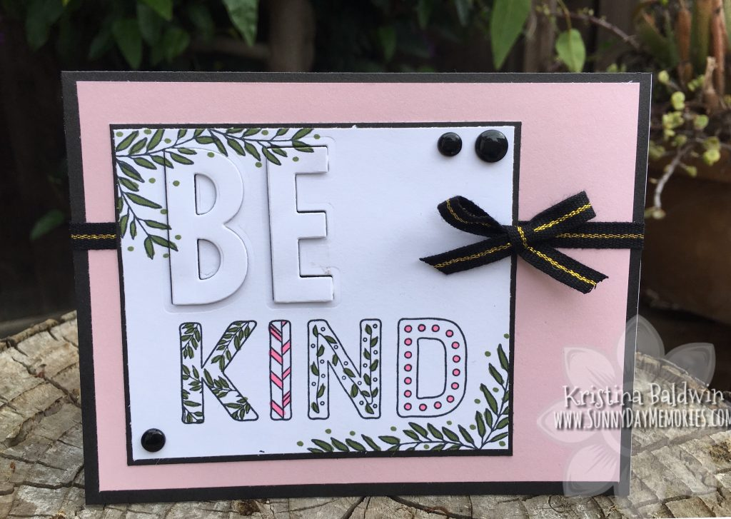 Be Kind Eclipse Card