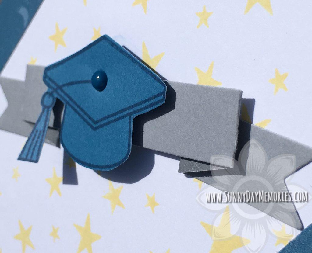 Closeup Graduation Cap Card