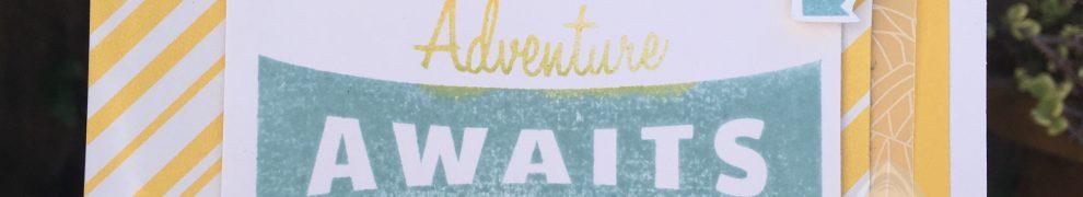 Adventure Awaits Postcard Perfect Card