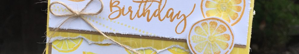 May Stamp of the Month Birthday Card