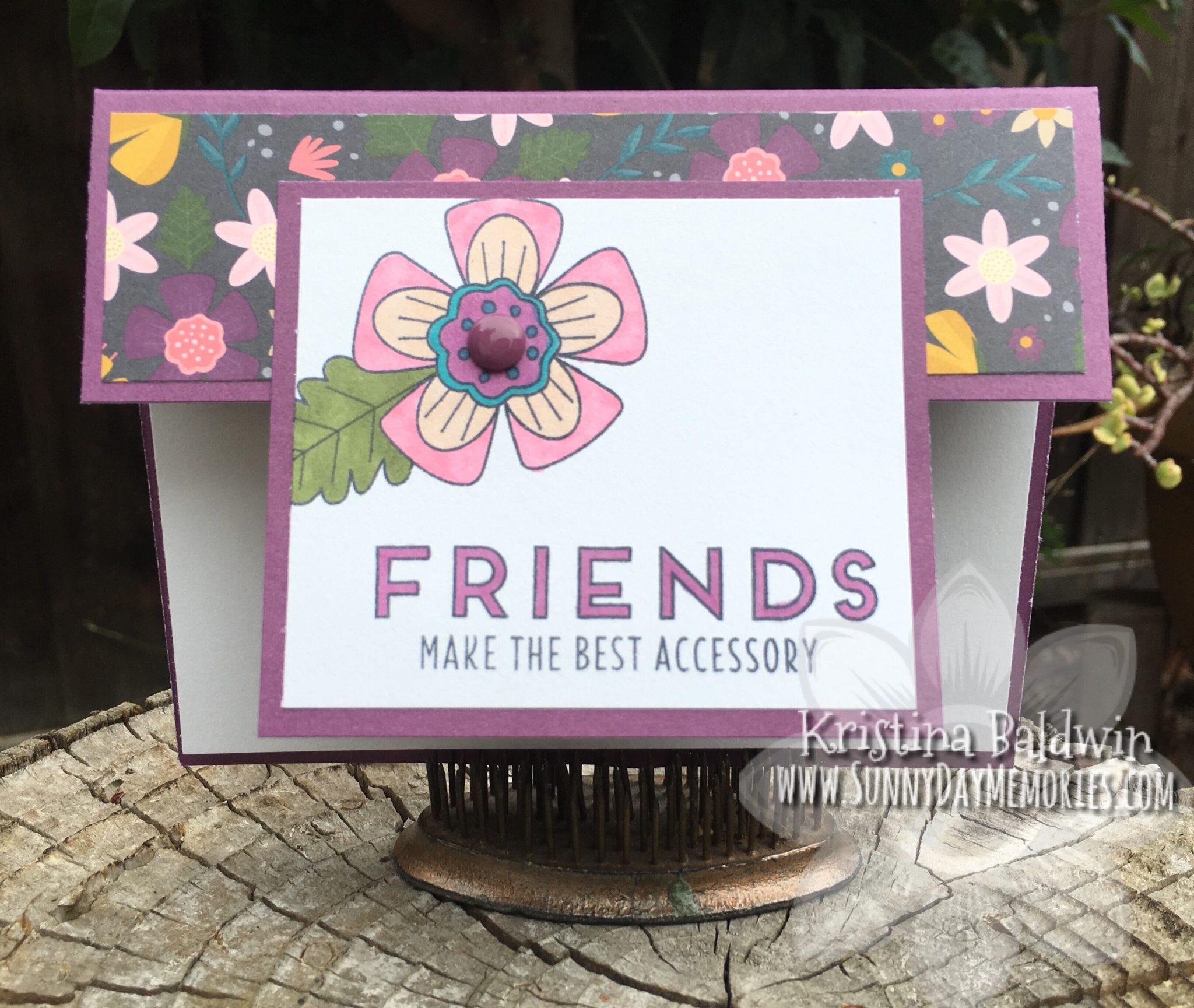 Friends Double Flap Card