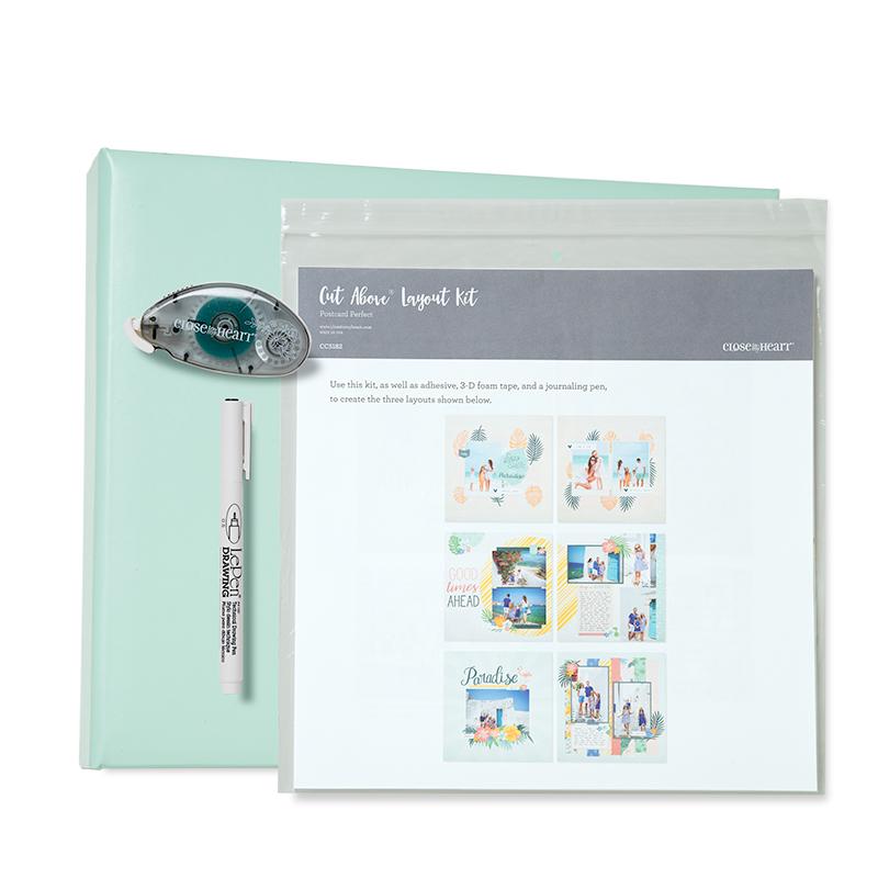 Postcard Perfect Sea Glass D-ring Kit