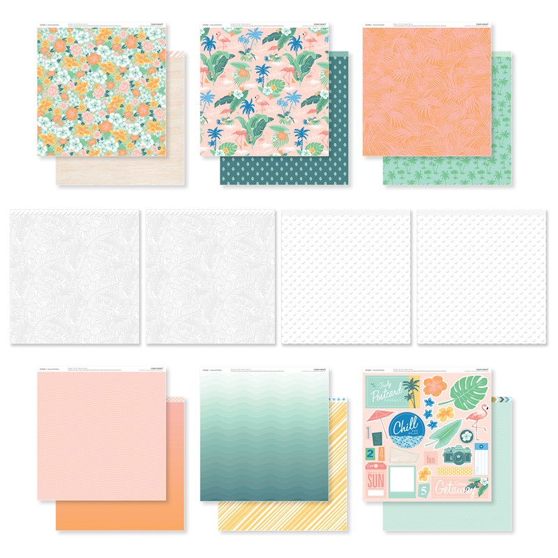 Postcard Perfect Paper Pack