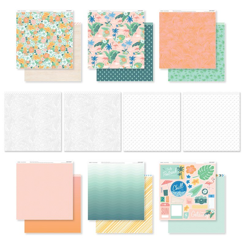 Postcard Perfect Paper Pack