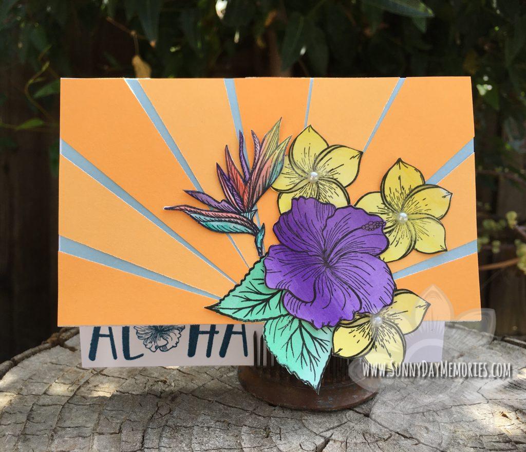Aloha Sunbeam Card