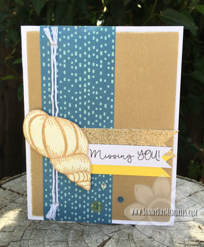 Shell Sentiments Card