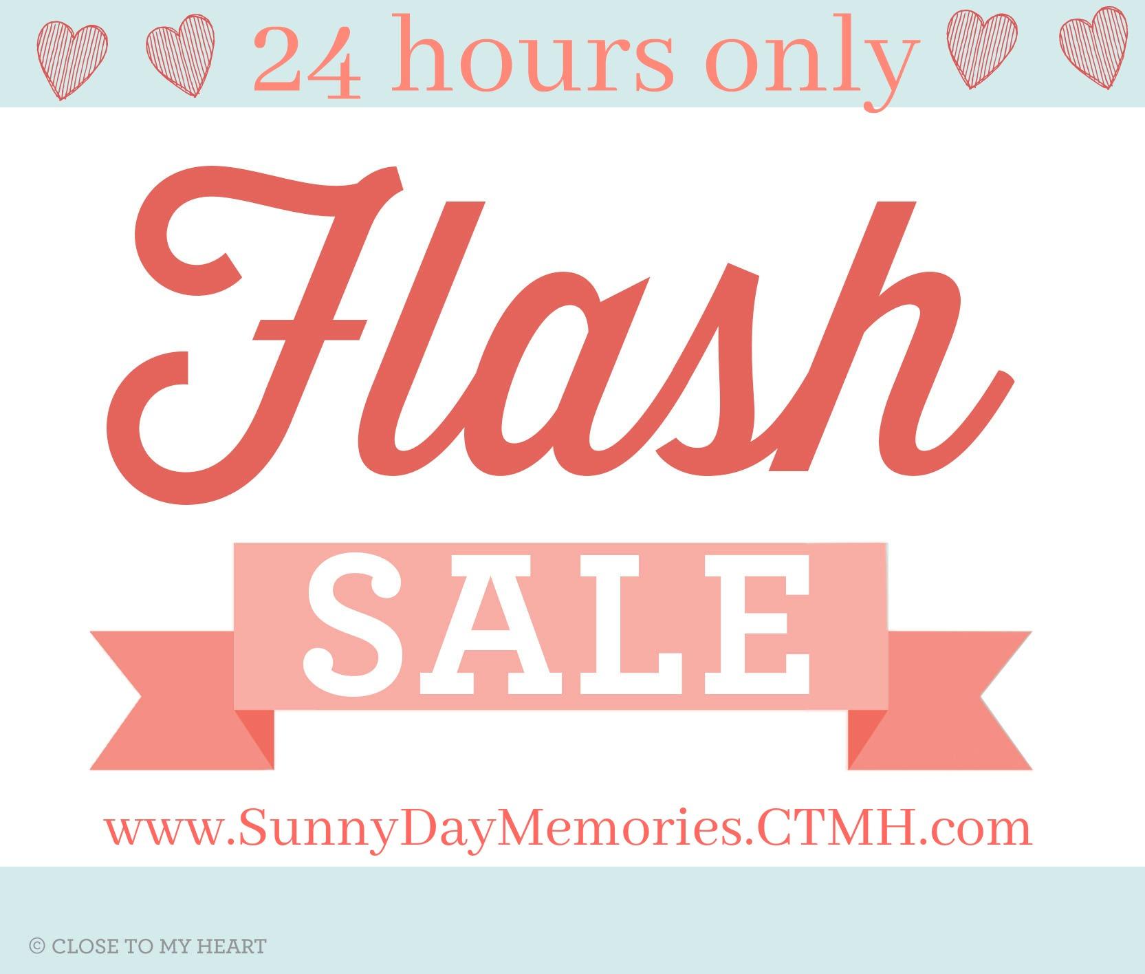 June 8 CTMH Flash Sale