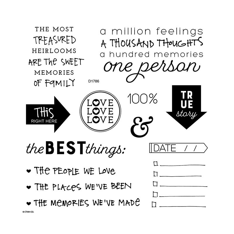 Quotable Words Stamp Set
