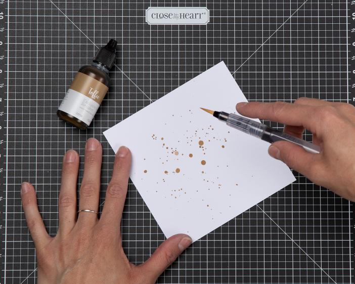 Reinker Splatter Technique
