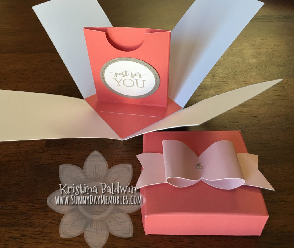 Open Gift Card Box