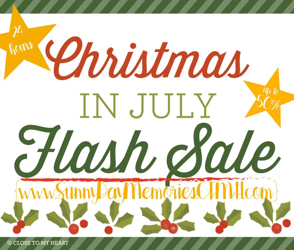 CTMH Christmas in July Flash Sale
