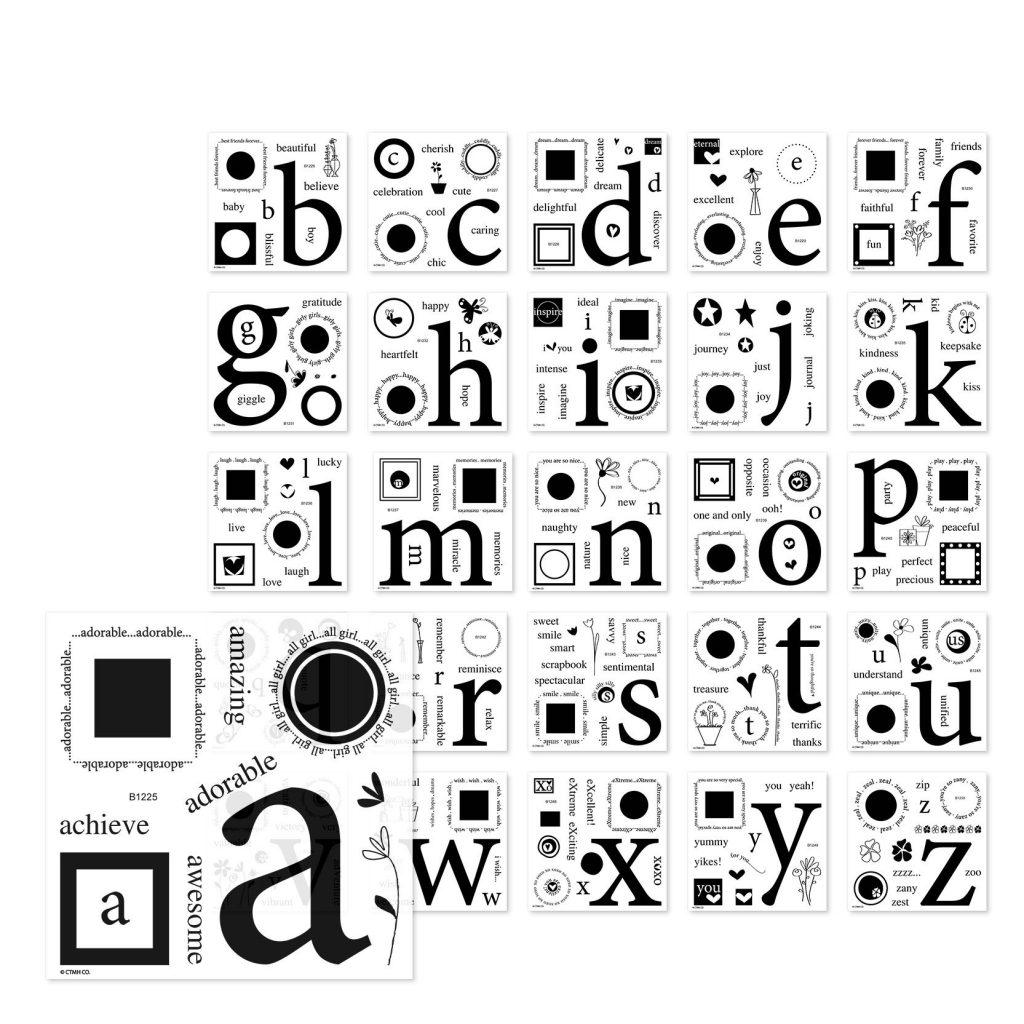 Solos Alphabet Bundle