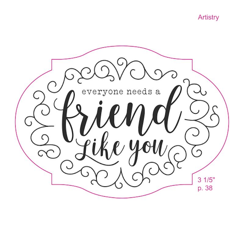 Flourishing Friendship Stamp Set
