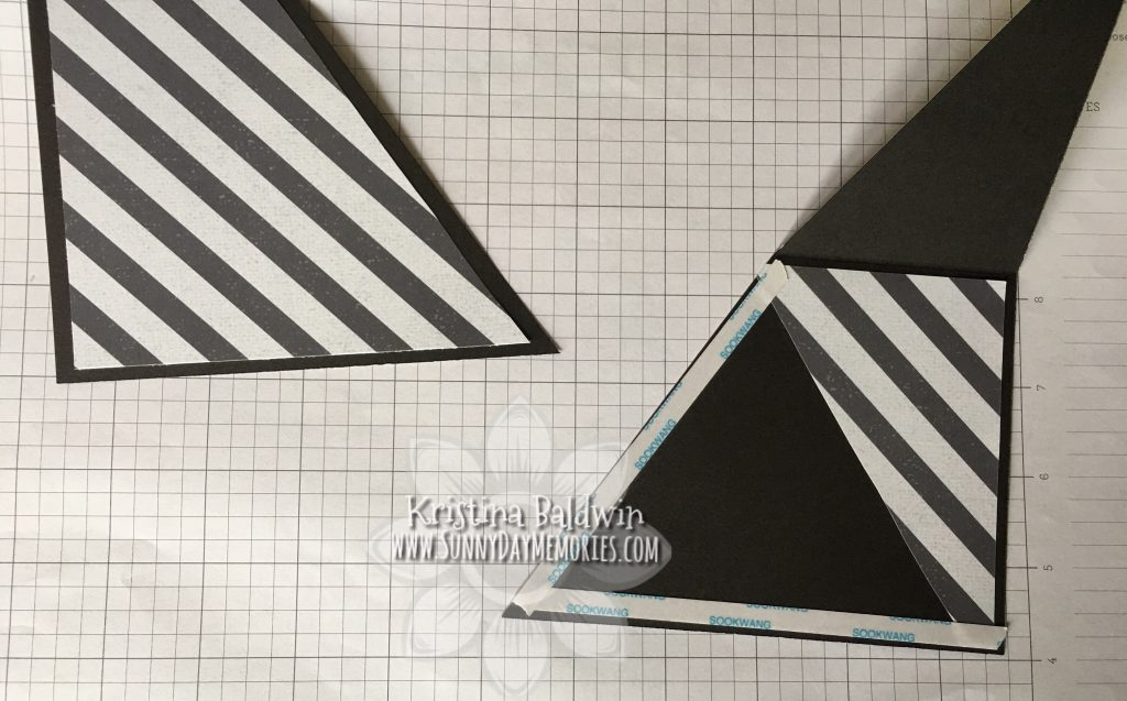 Double Triangle Pocket Card Step 6
