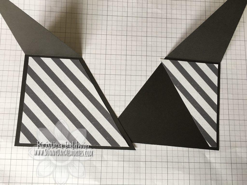 Double Triangle Pocket Card Step 5