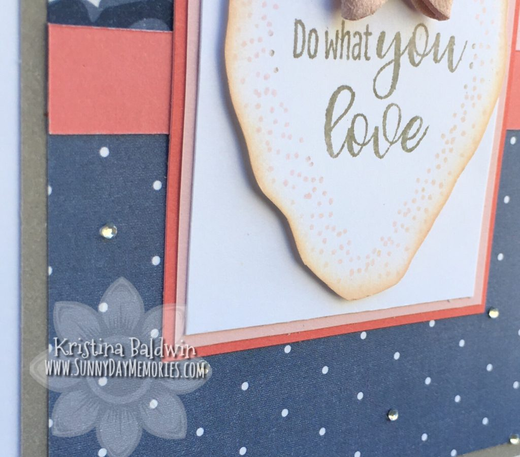 Closeup of Do What You Love Card