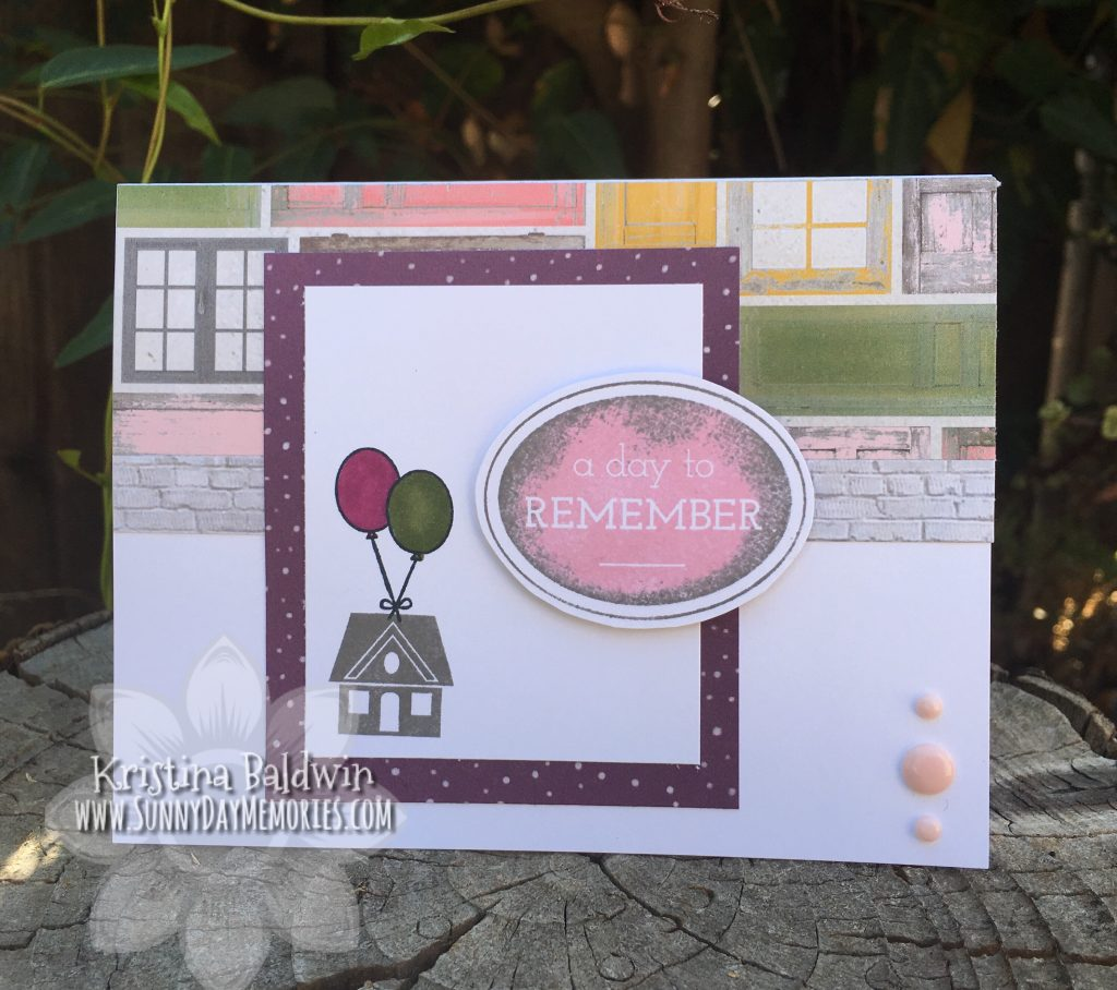 A Day to Remember July SOTM Card