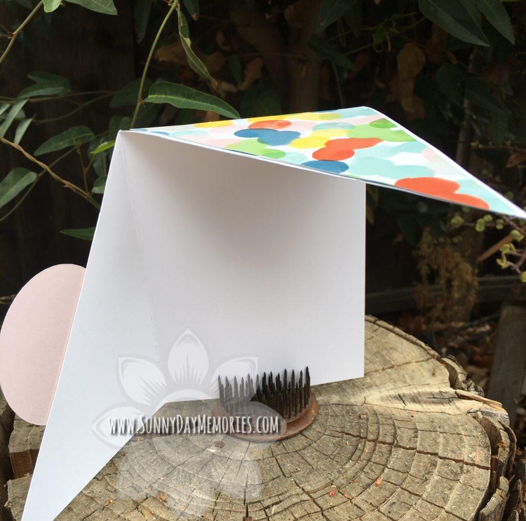 Right Angle Card Half Open