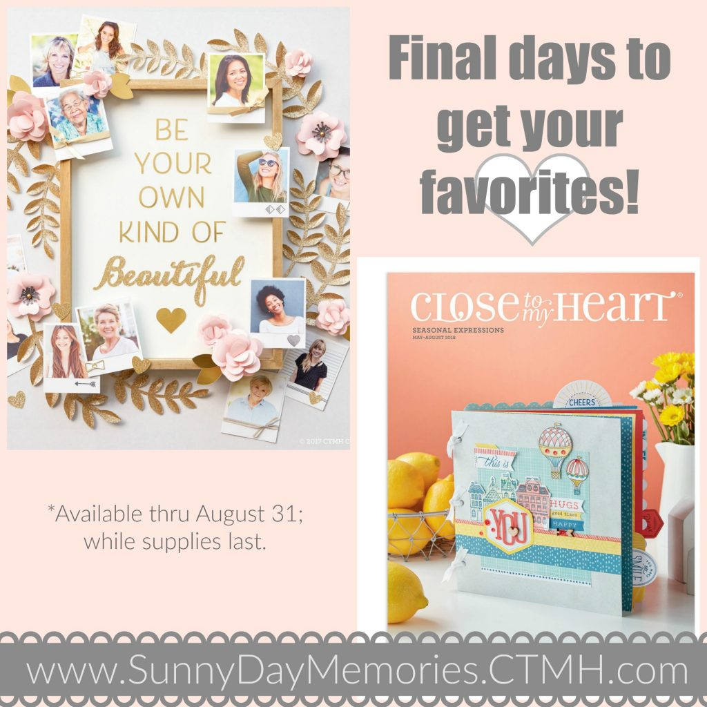 Final Days for CTMH Products