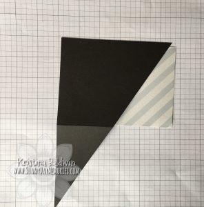 Double Triangle Pocket Card Step 4b