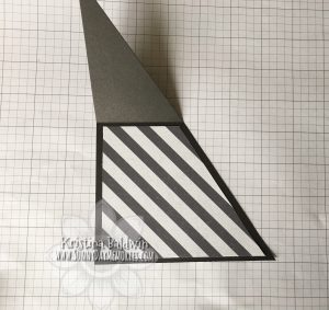 Double Triangle Pocket Card Step 4c