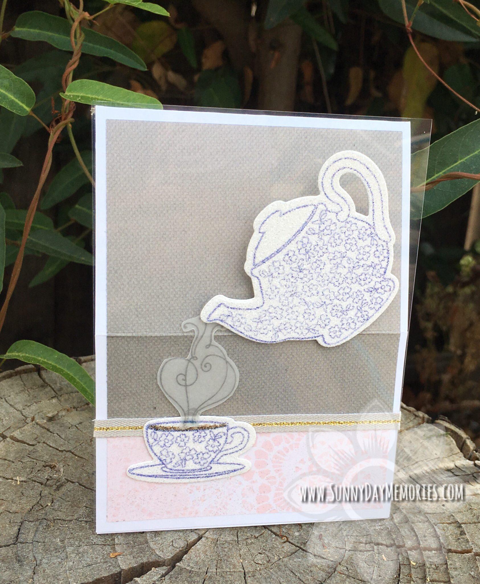 Beautiful friendship Tea Easel Card