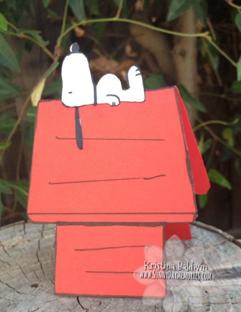 Snoopy Doghouse Card