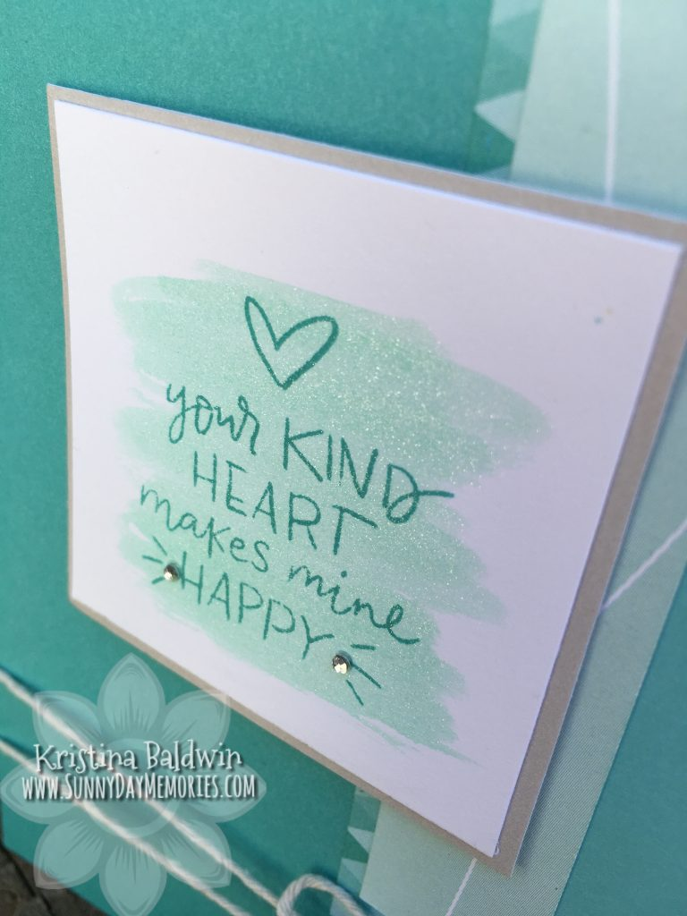 Close-up Kind Heart Card