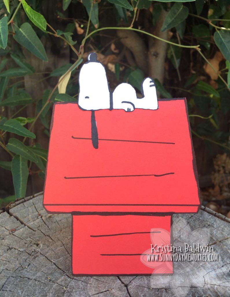 Snoopy Doghouse Card