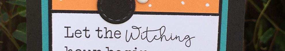 Witching Hour Halloween Card