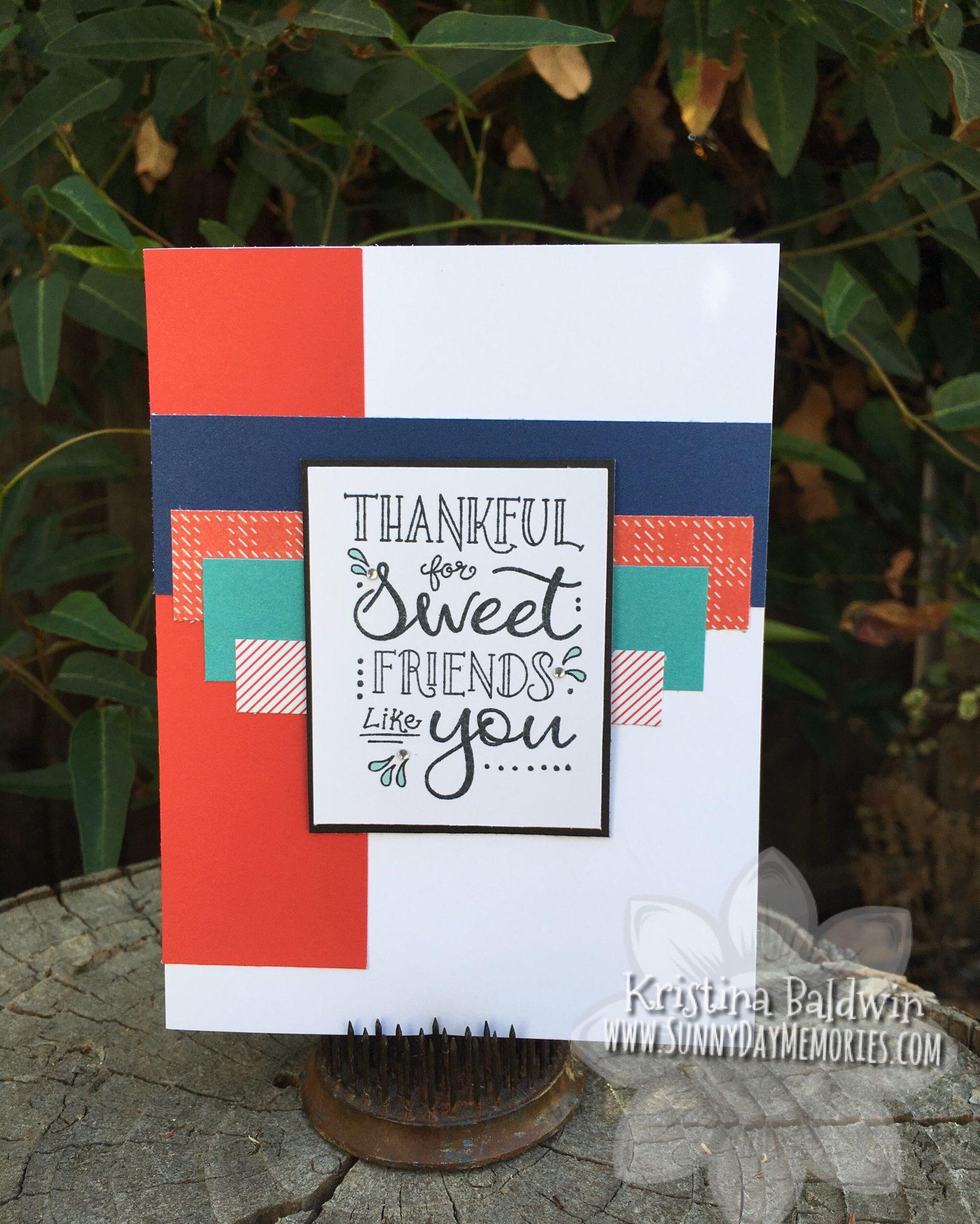 Sweet Friends September SOTM Card