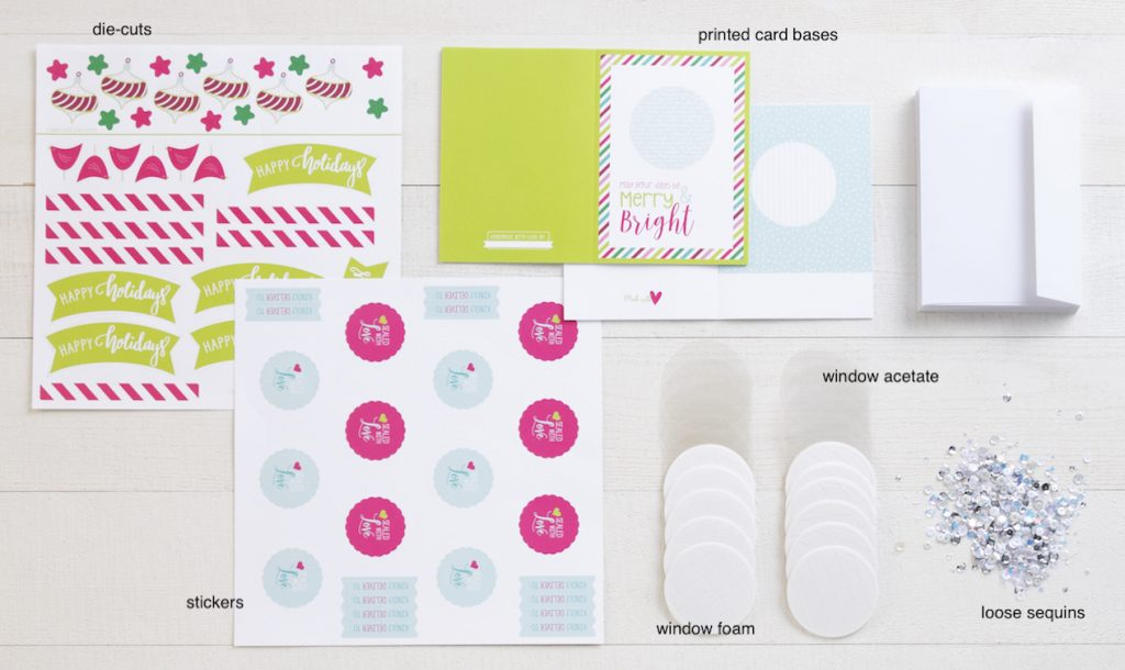 CTMH Holiday Sparkle Kit Contents