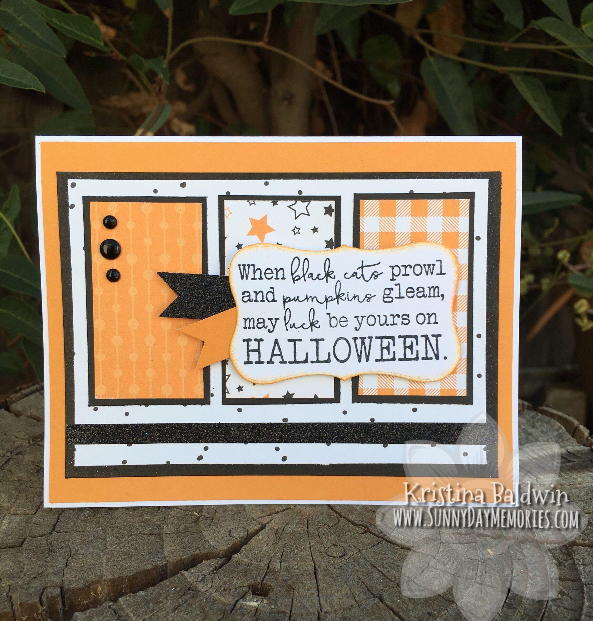Hello Pumpkin Halloween Card